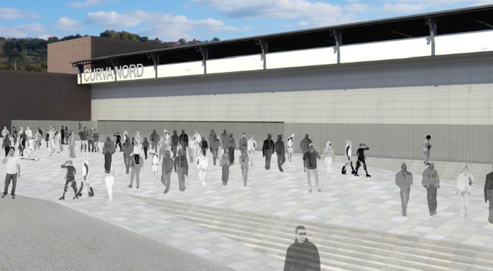 Presentato il progetto per il restyling dello stadio - Piscine lu fangazzu ...